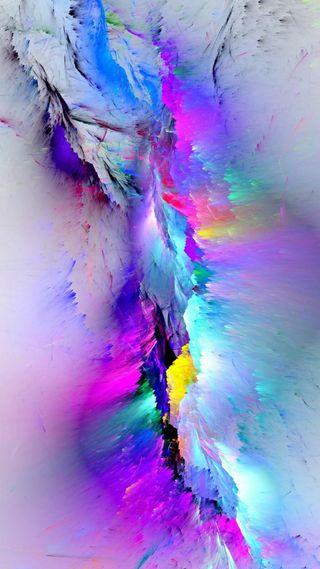 Обои на телефон глубокие, цветные, дизайн, взрыв, абстрактные