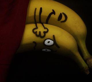 Обои на телефон шутка, юмор, фрукты, милые, любовь, кровать, комедия, банан, абстрактные, love humor
