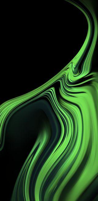 Обои на телефон эпичные, черные, стандартные, самсунг, зеленые, галактика, абстрактные, samsung, note 9 stock green, note 9, note 8, note, galaxy