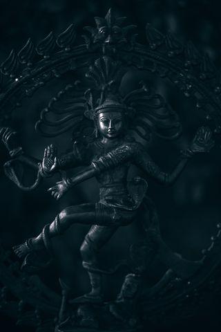 Обои на телефон танец, шива, черные, темные, легенда, господин, natatawa swamy