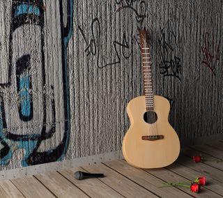 Обои на телефон гитара, hd