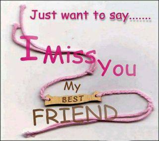Обои на телефон друг, скучать, miss u friend, miss u