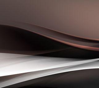 Обои на телефон формы, форма, коричневые, волны, волна, белые