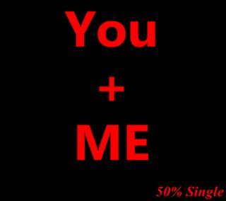Обои на телефон один, я, ты, you and me 50 single, mfsw, bnct