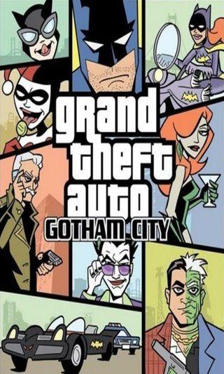 Обои на телефон гта, комедия, забавные, готэм, город, бэтмен