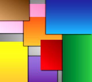 Обои на телефон квадраты, цветные, квадратные, геометрия, абстрактные, colored squares