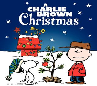 Обои на телефон снупи, снег, рождество, мультфильмы, маленький, любовь, коричневые, дерево, арт, peanuts, art, a little love