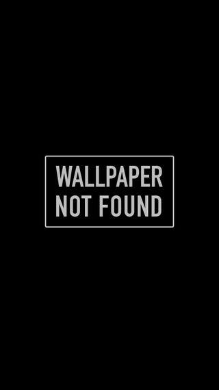 Обои на телефон минимализм, черные, простые, предупреждение, забавные, wallpaper not found, texxt, found, advisory