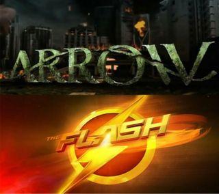 Обои на телефон стрела, флэш, theflash, arrow and the flash