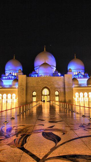Обои на телефон религия, мечеть, исламские, ислам, аллах, abu dhabi mosque