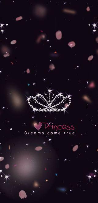 Обои на телефон принцесса, симпатичные, розовые, мечта, корона, девчачие, блестящие, princess dream