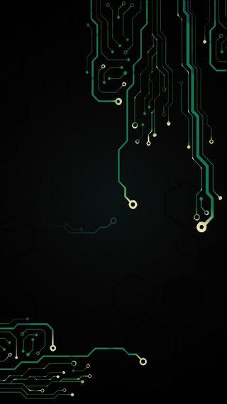 Обои на телефон технология, черные, трон, технологии, схемы, светящиеся, микросхема, компьютер, доска, внутри, андроид, android