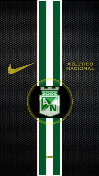 Обои на телефон чемпионы, футбол, спорт, найк, логотипы, колумбия, игра, зеленые, nike, nacional, atletico nacional