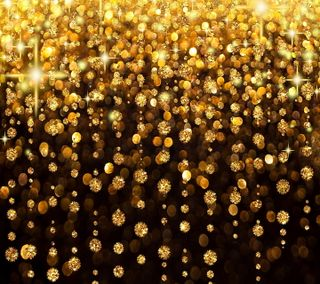 Обои на телефон год, украшение, снег, сияние, рождество, новый, золотые