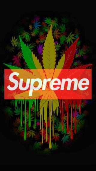 Обои на телефон ямайка, черные, логотипы, листья, красые, зеленые, желтые, supreme w**d, supreme, hd