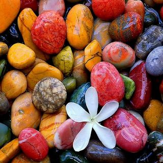 Обои на телефон дзен, цветные, камни, zen stones, colors rocks peebles