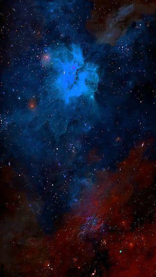 Обои на телефон galaxy, галактика, небо, ночь, космос, звезда, туманность