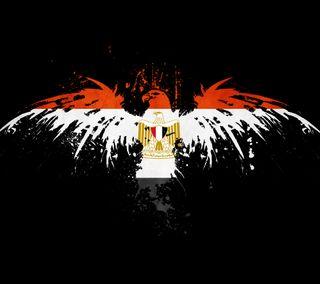 Обои на телефон флаг, египет