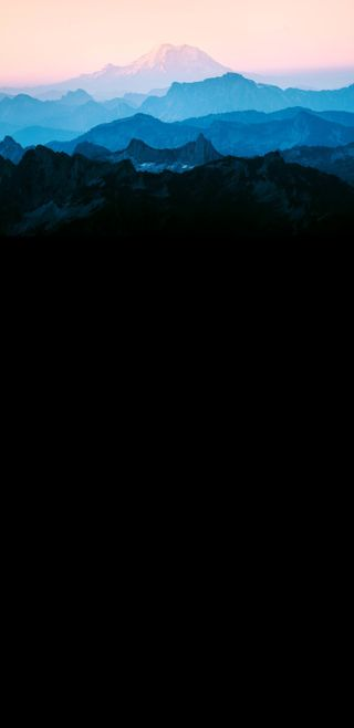 Обои на телефон топ, темные, синие, закат, горы, амолед, абстрактные, amoled