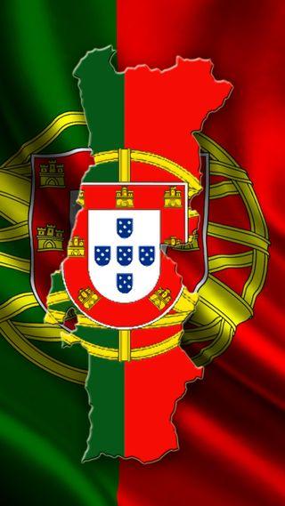 Обои на телефон португалия, флаг, страна, portuguese, gontu, contour