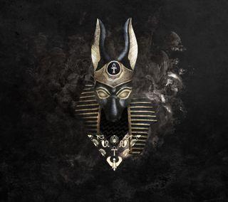 Обои на телефон египетский, египет, бог, mythology, myth, jackal, anubis, anapa