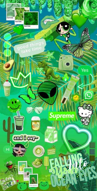 Обои на телефон зеленые, fondo