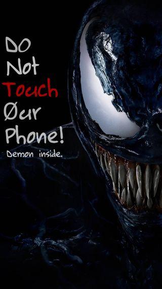 Обои на телефон трогать, не, телефон, мой, веном