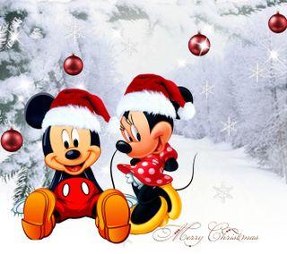 Обои на телефон счастливое, рождество, дисней, 1440x1280px