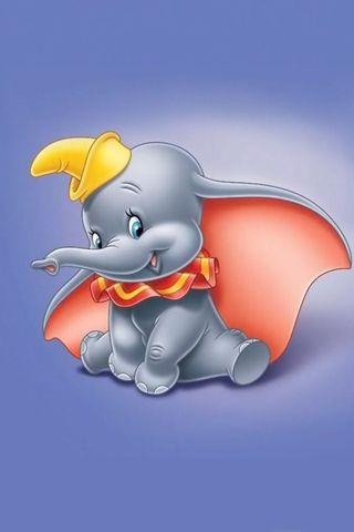 Обои на телефон слон, мультфильмы, dumbo