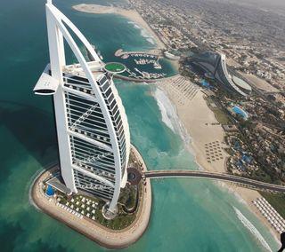 Обои на телефон оаэ, дубай, здания, бурдж, башня, арабские, emirates, al-arab