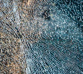Обои на телефон макро, текстуры, стекло, сломанный