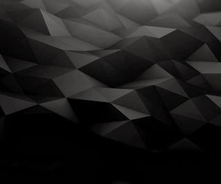 Обои на телефон треугольники, цифровое, поверхность, абстрактные, digital surface