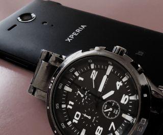 Обои на телефон часы, сони, xperia live watch, xperia, sony, live wallpaper