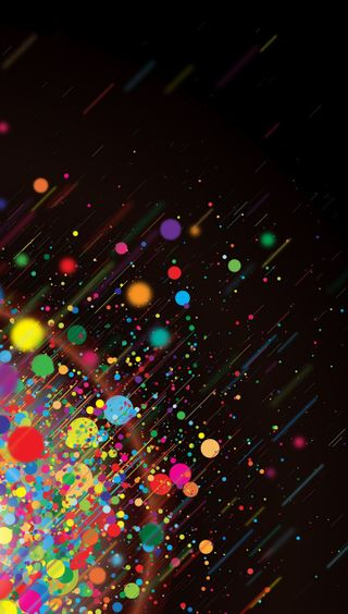 Обои на телефон яркие, брызги, цветные, темные, радуга, боке, арт, абстрактные, rainbow  splash, art