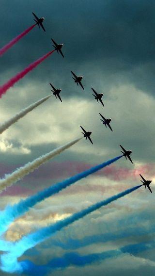 Обои на телефон самолет, реактивный, небо, jets, aircrafts