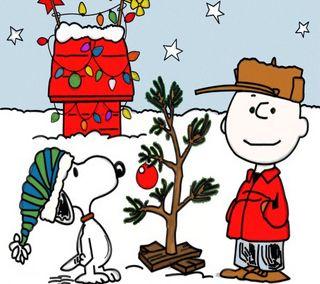 Обои на телефон снупи, мультфильмы, рождество, праздник, коричневые, peanuts, charlie brown xmas, charlie