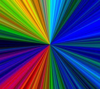 Обои на телефон цветные, спектр, линии, абстрактные, qhd