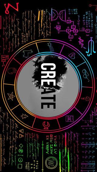 Обои на телефон зодиак, черные, символы, символ, креативные, знаки, create