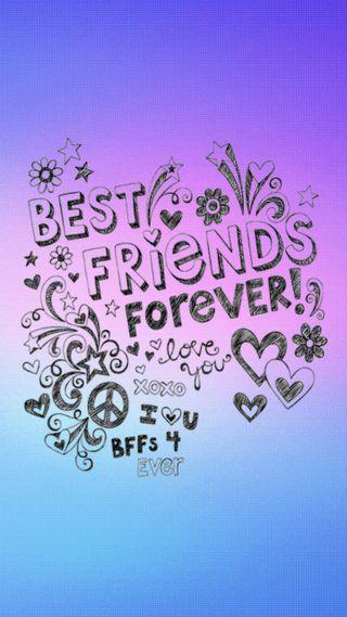 Обои на телефон мир, фиолетовые, сердце, любовь, лучшие, звезда, друзья, градиент, love