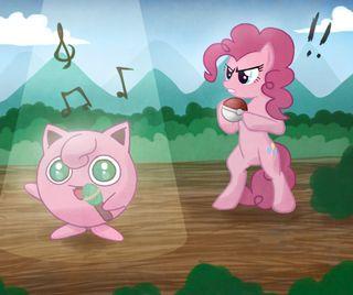 Обои на телефон пони, покемоны, мой, маленький, магия, дружба, pinkie, pie, mlp, jig, angers pinkie pie