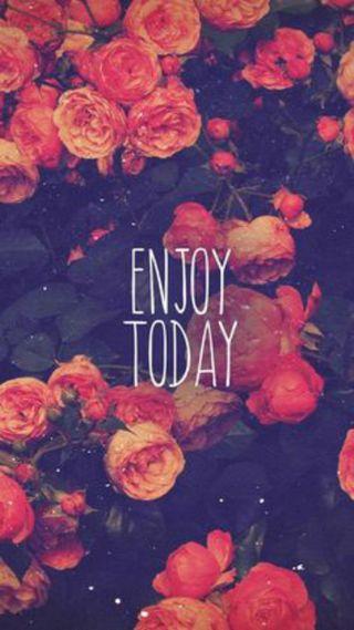 Обои на телефон сегодня, наслаждаться, лайк, другие, enjoy today