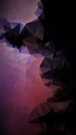 Обои на телефон треугольники, фиолетовые, розовые, арт, абстрактные, s8, s7, art