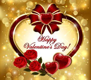 Обои на телефон роскошные, сердце, романтика, розы, любовь, золотые, день, валентинка, luxury, love