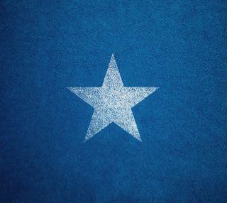Обои на телефон простые, текстуры, синие, свежий, один, крутые, звезда, белые, worn, single star, hd