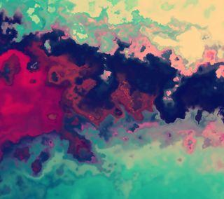 Обои на телефон цветные, красые, бирюзовые, арт, абстрактные, darkdroid, art