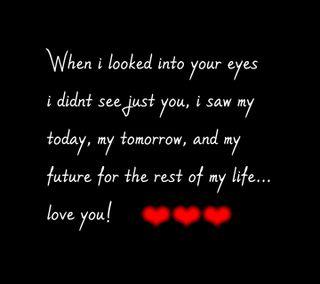 Обои на телефон твой, любовь, глаза, высказывания, love, into your eyes