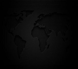 Обои на телефон карта, черные, темные, мир, карбон, земля, волокно, chart