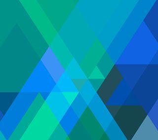 Обои на телефон айпад, эпл, формы, треугольник, синие, айфон, абстрактные, triangular blue, mac, iphone, ios, apple