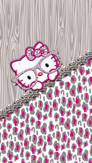 Обои на телефон шик, привет, розовые, котята