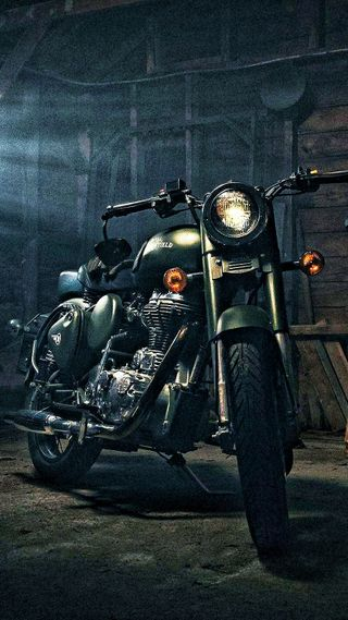 Обои на телефон мотоцикл, крутые, байк, royal enfield, dslr